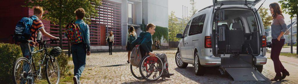Aménagement de véhicules pour personnes à mobilités réduites